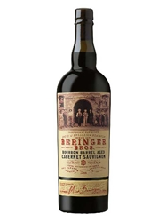 Beringer Bros. Bourbon Barrel Aged Cabernet Sauvignon 2016 750ML Bottle