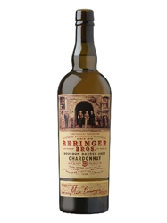 Beringer Bros. Bourbon Barrel Aged Chardonnay 2016 750ML Bottle