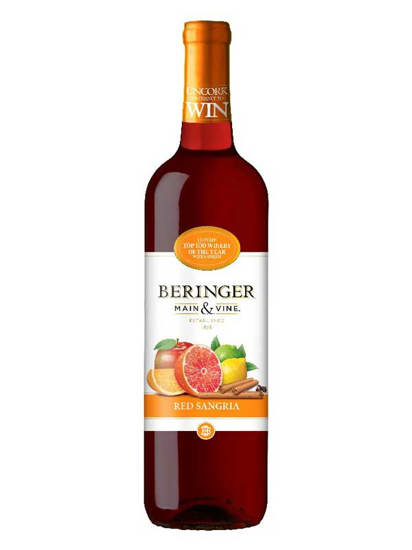 Beringer Main & Vine Red Sangria 750ML Bottle