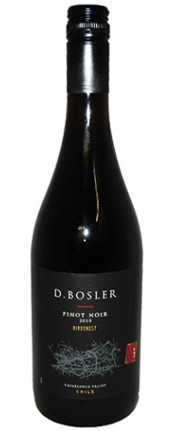 D. Bosler Birdsnest Pinot Noir Casablanca Valley 2014 750ML Bottle