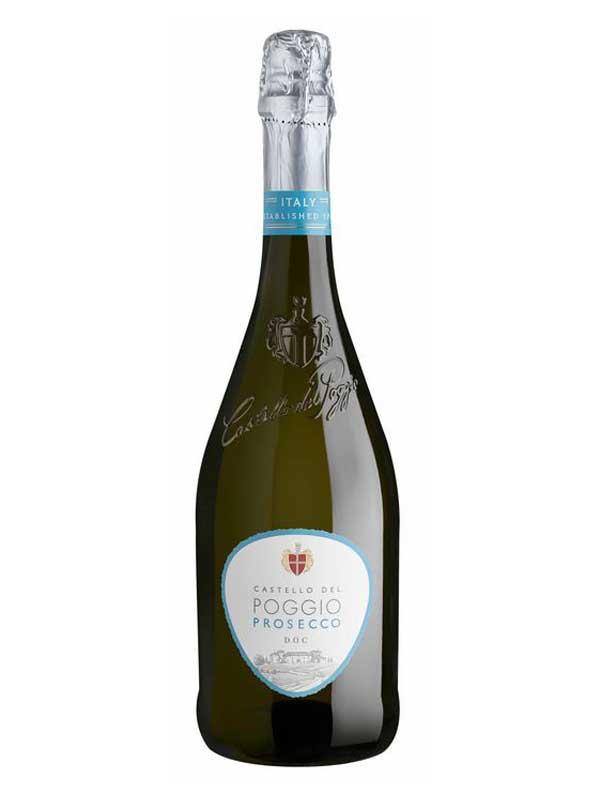 Castello del Poggio Prosecco D O C  Demi-Sec Sparkling Wine 750ML