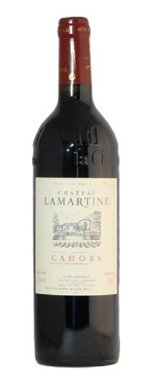 Chateau Lamartine Cahors 2012 750ML Bottle