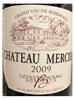 Chateau Mercier Cuvee Traditionnelle Cotes de Bourg Bordeaux 2009 750ML Label