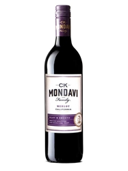 CK Mondavi and Family Merlot 750ML Bottle