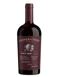 Cooper & Thief Cellarmasters Brandy Barrel Aged Pinot Noir 2018 750ML Bottle