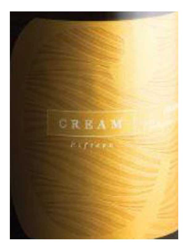 Balius Cream Chardonnay California 750ML Label