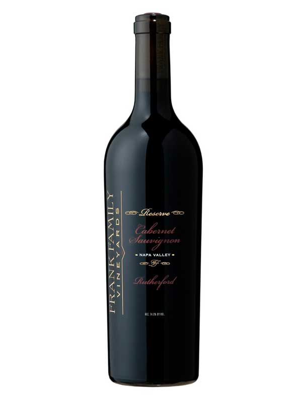 Frank Family Vineyards Cabernet Sauvignon Reserve Rutherford 2013 750ML Bottle