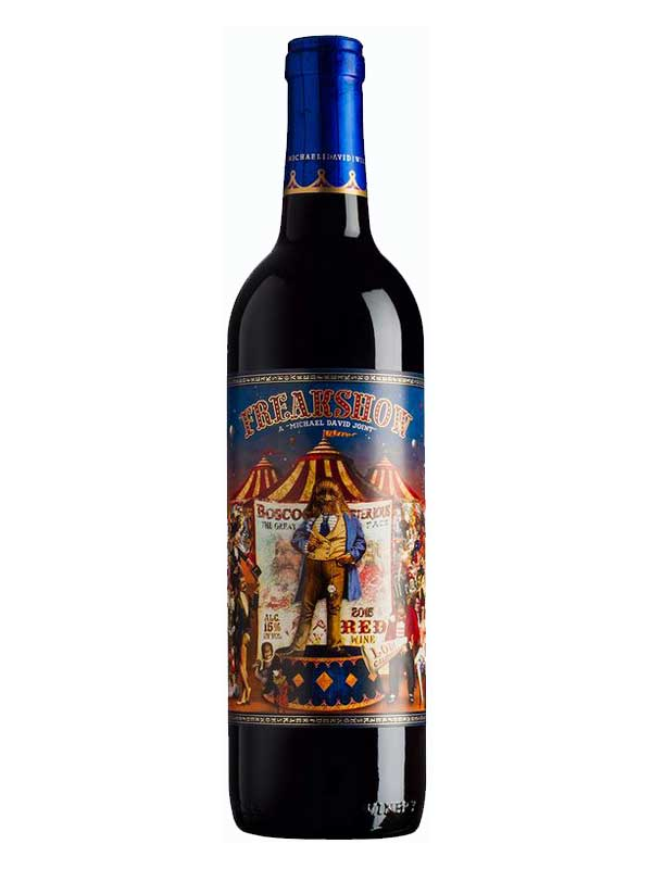 Michael and David Phillips Freakshow Red Wine Lodi 2015 750ML Bottle