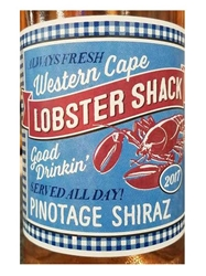 Lobster Shack Pinotage Shiraz Rose Western Cape 2017 750ML Label