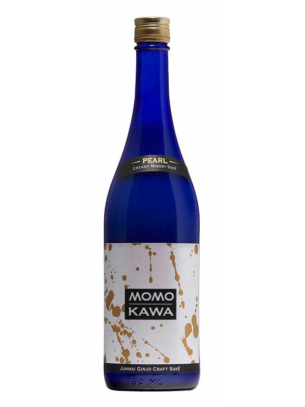 Momokawa Pearl Nigori Junmai Ginjo Craft Sake 750ML Bottle