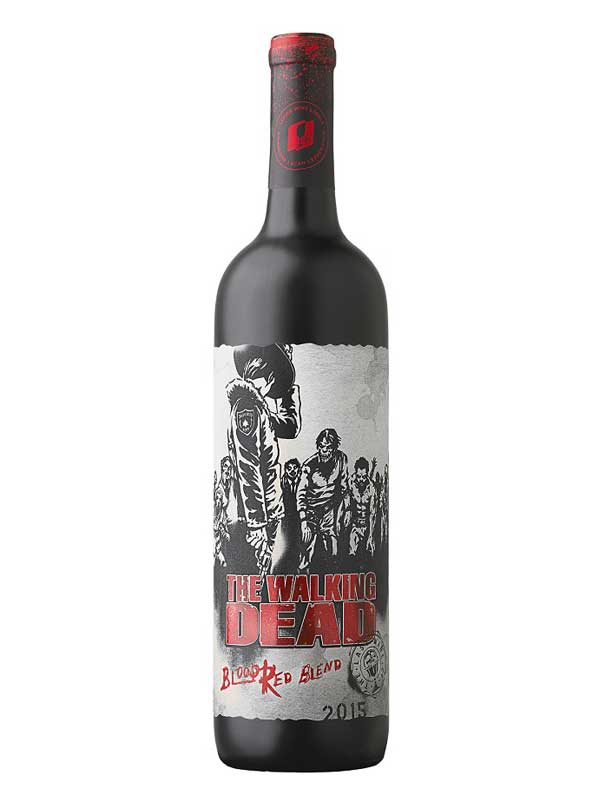 The Walking Dead The Walking Dead Blood Red Blend 2015 750ml